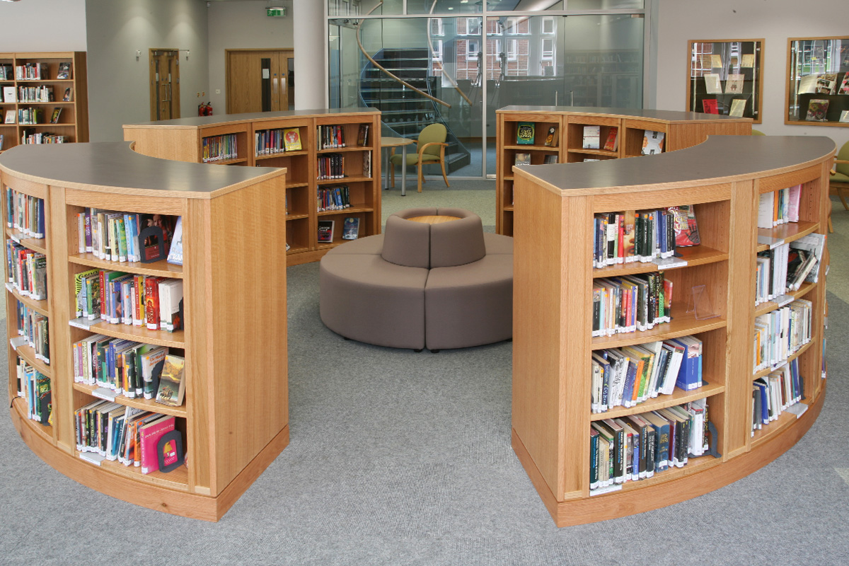 St Helen and St Katharine School Library